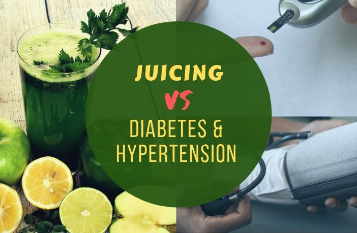 Juicing for Diabetics and High Blood Pressure